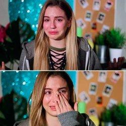 Марьяна Ро плачет