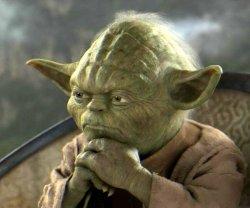 Мастер Йода задумался о...