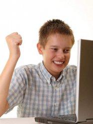 Первый день в интернете