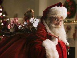 Санта Клаус с подарками