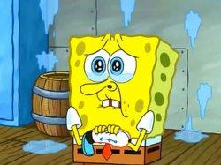 Спанч Боб слезы