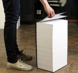 Список страниц большой книги