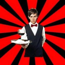 Типичный официант