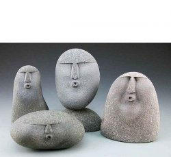 Ууу Каменные статуи