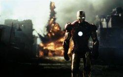 Железный человек и взрыв