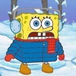 Зимний Спанч Боб